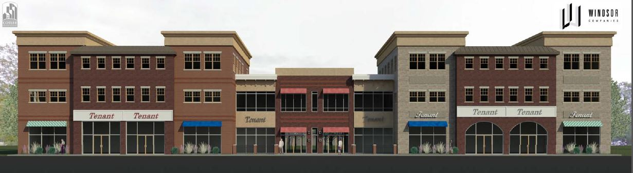 Village Plaza Mixed Use Building